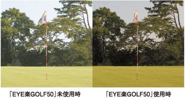 ゴルフ比較画像