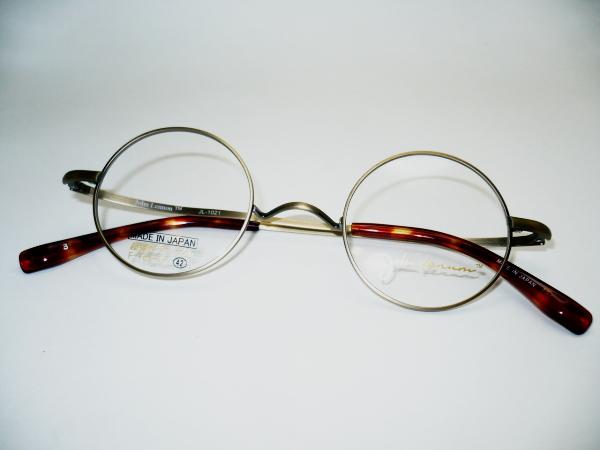 ジョンレノン丸メガネ