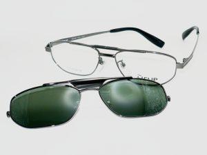 サングラス付メガネ